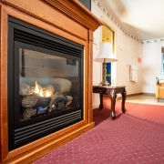 Grand View Suite Fireplace