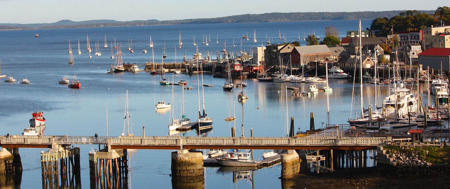Belfast Maine Harbor Near Our Lodging