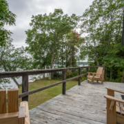 Shore Cottage Deck With View